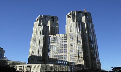 東京都庁の展望室